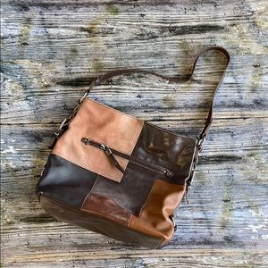 THE SAK- Brown Leather Purse